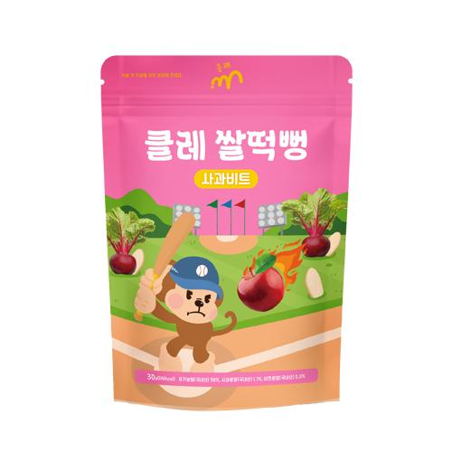 사과비트 쌀떡뻥 1봉(30g)