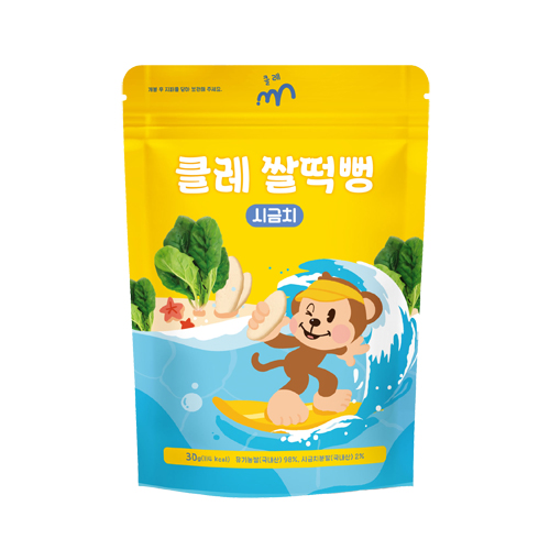 시금치 쌀떡뻥 1봉(30g)